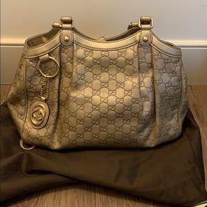 Gucci Sykes Medium Guccisima Tote Bag